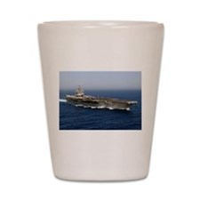 USS Enterprise CVN 65 Shot Glass