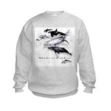 Cute Whale Sweatshirt