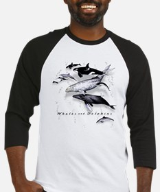 Whales  Dolphins Baseball Jersey