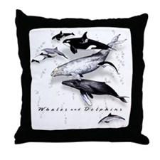 Unique Whale Throw Pillow