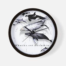 Cute Underwater Wall Clock