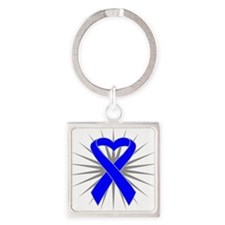 Child Abuse Square Keychain