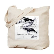 Funny Orca Tote Bag