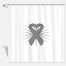Brain Tumor Shower Curtain