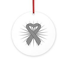 Brain Tumor Ornament (Round)