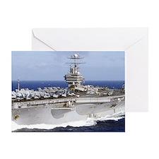 USS Abraham Lincoln CVN-72 Greeting Cards