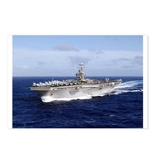 USS Abraham Lincoln CVN-72 Postcards (Package of 8
