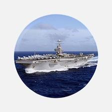 "USS Abraham Lincoln CVN-72 3.5"" Button"