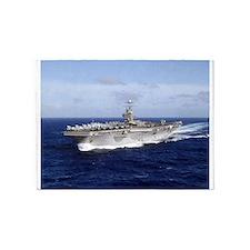 USS Abraham Lincoln CVN-72 5'x7'Area Rug
