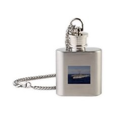USS Abraham Lincoln CVN-72 Flask Necklace