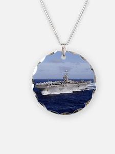 USS Abraham Lincoln CVN-72 Necklace
