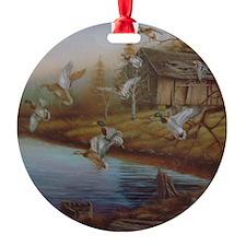 BACKWOODS MALLARDS Ornament