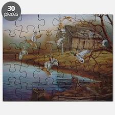 BACKWOODS MALLARDS Puzzle