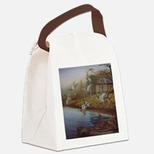 BACKWOODS MALLARDS Canvas Lunch Bag