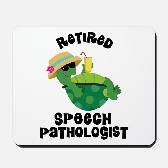 Retired Speech Pathologist Mousepad