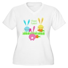 Cute Happy easter T-Shirt
