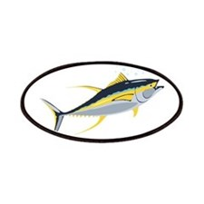 Yellowfin Tuna Fish Patches