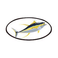 Yellowfin Tuna Fish Patches