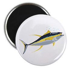 Yellowfin Tuna Fish Magnets