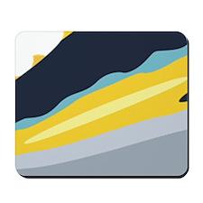Yellowfin Tuna Fish Mousepad
