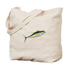 Yellowfin Tuna Fish Tote Bag