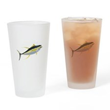Yellowfin Tuna Fish Drinking Glass