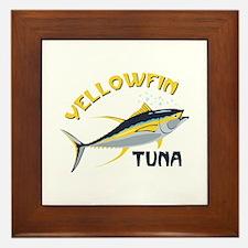 Yellowfin Tuna Framed Tile