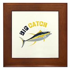 Big Catch Framed Tile