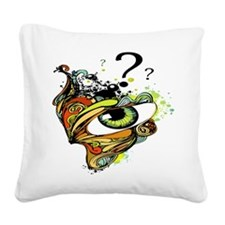 Artistic Eye Square Canvas Pillow