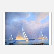 Vintage Sailboat Postcards (Package of 8)