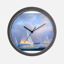 Vintage Sailboat Wall Clock