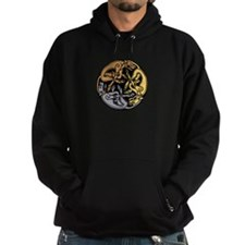 Celtic Chasing Hounds Hoody