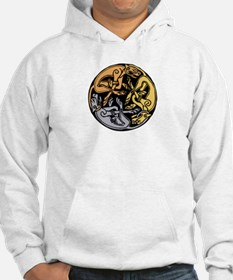 Celtic Chasing Hounds Jumper Hoody