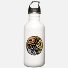 Celtic Chasing Hounds Water Bottle