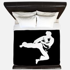 Martial Arts King Duvet