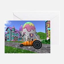 Carrot Car Greeting Card