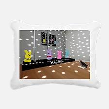 Peeps Rectangular Canvas Pillow