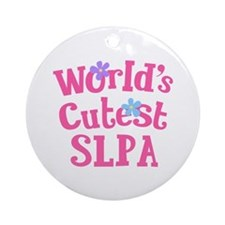 Cutest SLPA Ornament (Round)