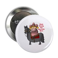 "Cowgirl 2.25"" Button"