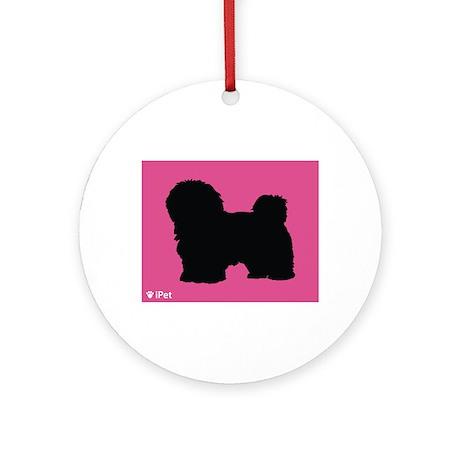 Coton iPet Ornament (Round)