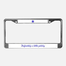 Pitchy License Plate Frame