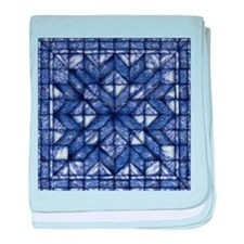 Blue Marble Quilt baby blanket