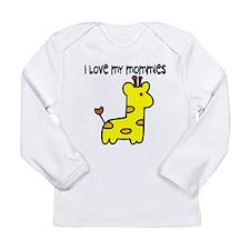 Luv Mommies 006 copy Long Sleeve T-Shirt