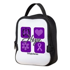 Hope Fibromyalgia Neoprene Lunch Bag