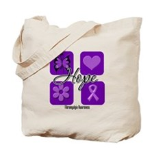 Hope Fibromyalgia Tote Bag