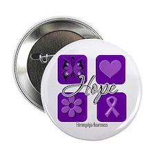 "Hope Fibromyalgia 2.25"" Button (100 pack)"