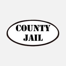 COUNTY JAIL Patches