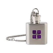 Hope Epilepsy Flask Necklace