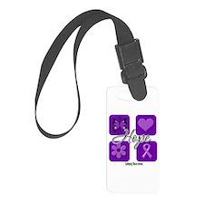 Hope Epilepsy Luggage Tag