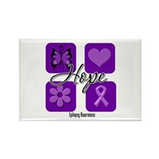 Hope Epilepsy Rectangle Magnet